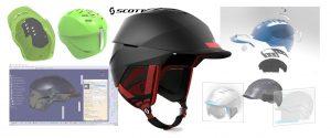 Scott helmets, designed, Spark Innovations, product development