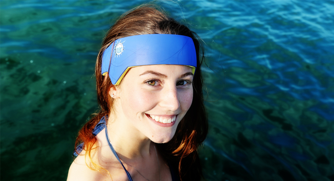BRAINWAVE Water sport head protection