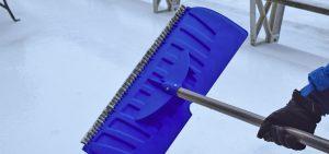 Snow, shovel, design, bristles, new, revolutionary