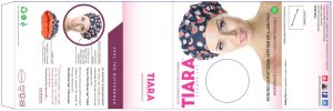 Tiara, Shower Cap, Packaging design