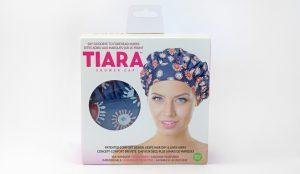 Tiara Shower Cap, Packaging, packaging design