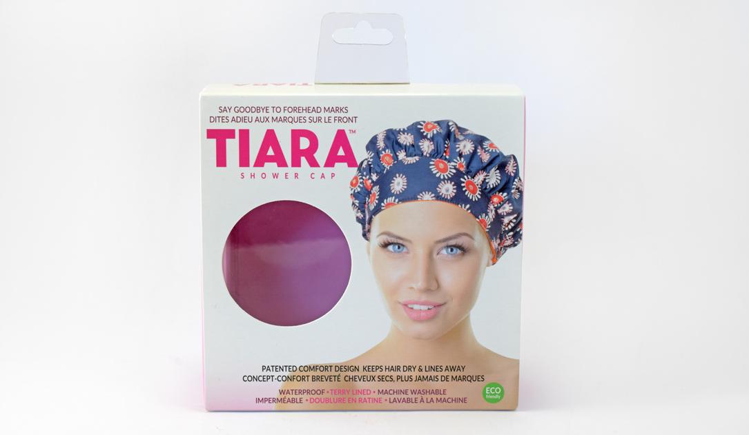 Tiara Shower Cap Packaging