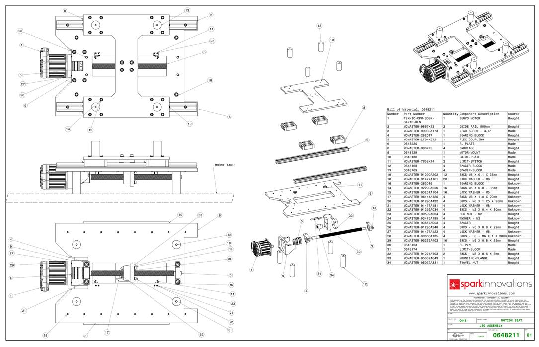Mechanical Engineering outsourcing - Mechanical engineering drawings