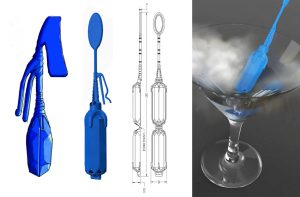 Industrial design, one part products, single product design