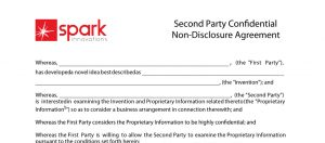 One way Non Disclosure Agreement