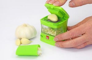 Design a Product, Photo, final product, kitchen garlic press, marketing pics