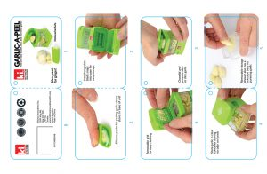 Packaging tag, design, garlic press, Design a Product, industrial design, product design