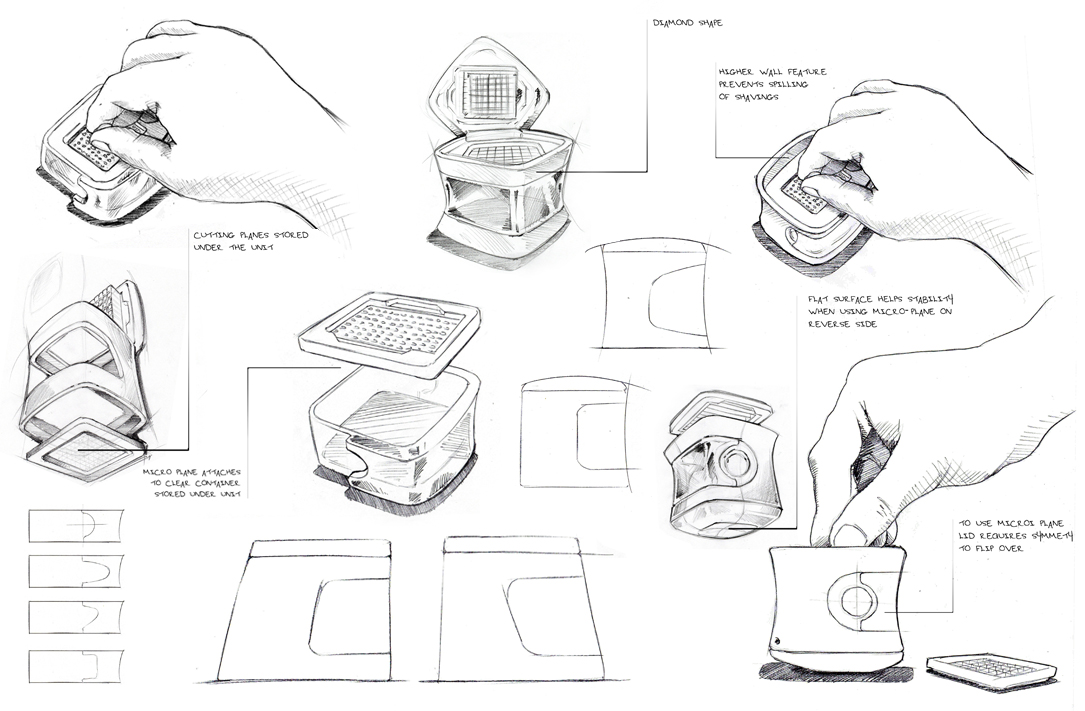 Cool ideas & how they happened | Product Design Sketches