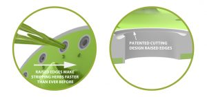 Innovative Herb Stripper & Herb Scissors Set