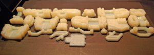 3D prototyping, 3D printing details. product development