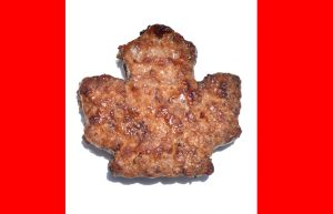Canada day, flag, Canada meat,