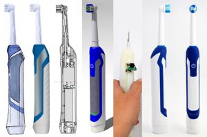 Dental product design, tooth brush, industrial design, design process