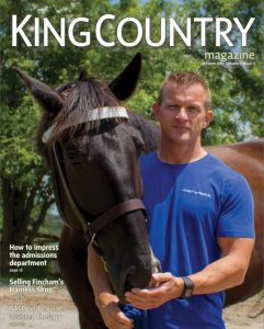 King Spark innovations, Country Magazine, Cover, Fall