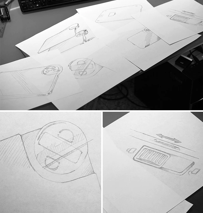 NutriScale Sketches | Kickstarters Campaign