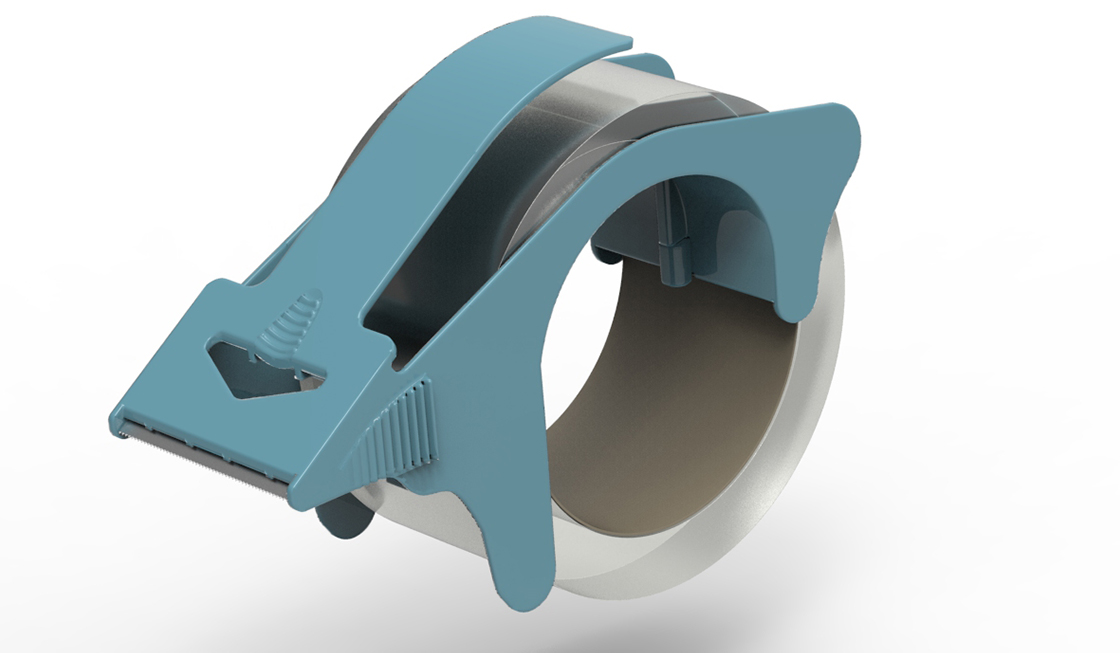 Heavy Duty Tape Dispenser RENDERINGS