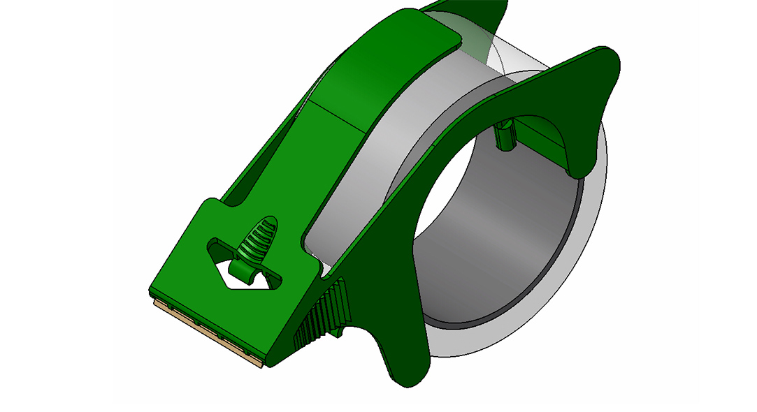 Heavy Duty Tape Dispenser CAD