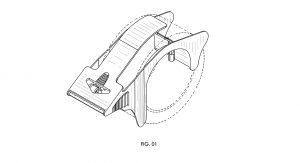 heavy duty, tape dispenser, patent design, rendering, industrial design