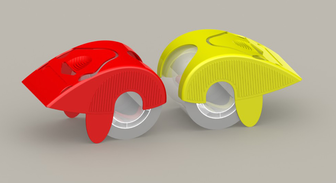 Palm Guard Tape Dispenser Renderings concepts