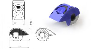 Palm, Guard, Tape, dispenser, tape dispenser, industrial design, product development