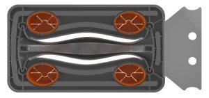 Q-Swiper, renderings, BBQ, Grill Cleaner, industrial design