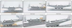 Mooring Aid cleat sizes