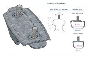 Mooring Aid clamp
