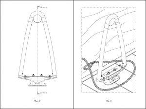 Mooring Aid, Patent Drawings