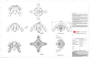 Mooring Aid, Piling, technical drawings, CAD