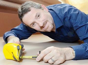 Inventor working to market drywall-cutting tool