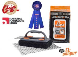 Q-Swiper, Proud Grill, Retailers Choice Award, innovative product