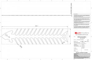 BBQ Skewer, bbq, design, industrial design, product design, CAD, technical drawings