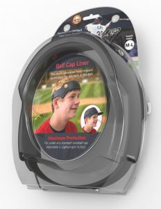 Spark Innovations, Ball Cap Liner, clamshell, packaging, Design