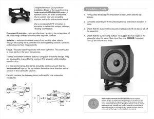 IsoAcoustics, Booklet, Design, graphics, graphic design, booklet design