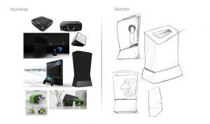 Visual, concepts, product design, battery storage unit, new ideas