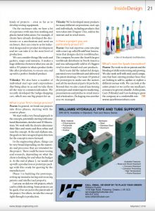 feature, magazine, spark, Design Engineering Magazine feature