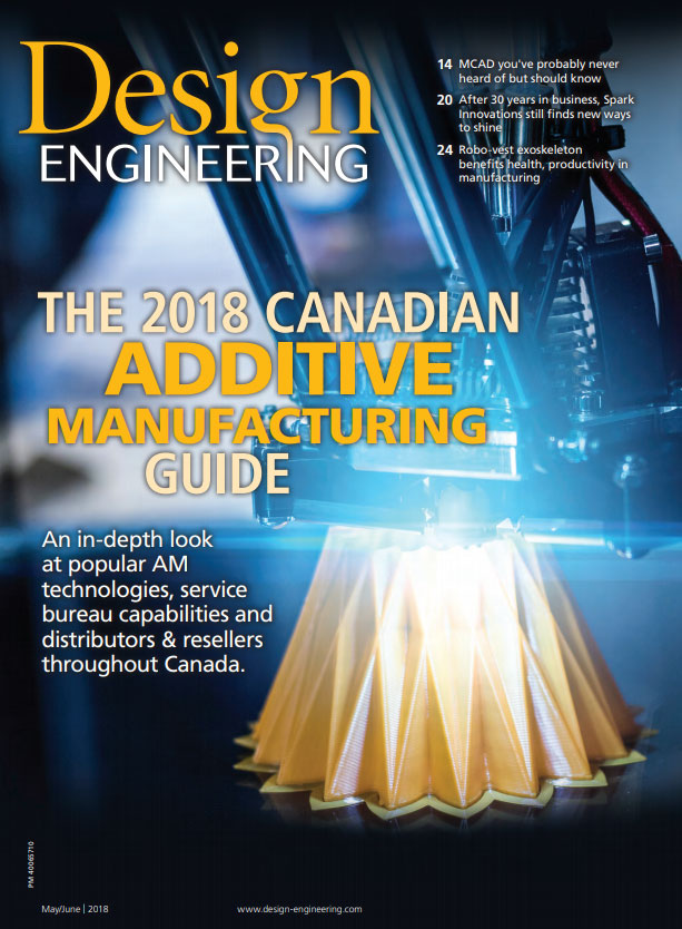 Design Engineering Magazine feature