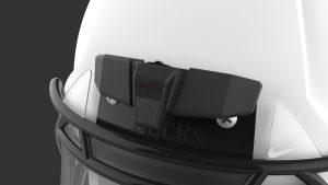 Camera helmet, rendering, proposal, product design, mechanical enginering