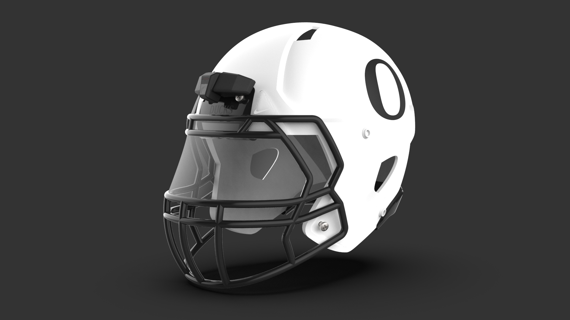 Helmet Camera Design Mounted