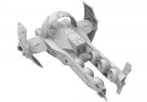 Zenith Ship, renderings, Startlink Battle for Atlas, Ubisoft, Ubisoft's modular starship toys development