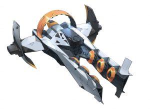 Zenith Concept, concept development, Startlink Battle for Atlas, Ubisoft, Ubisoft's modular starship toys development