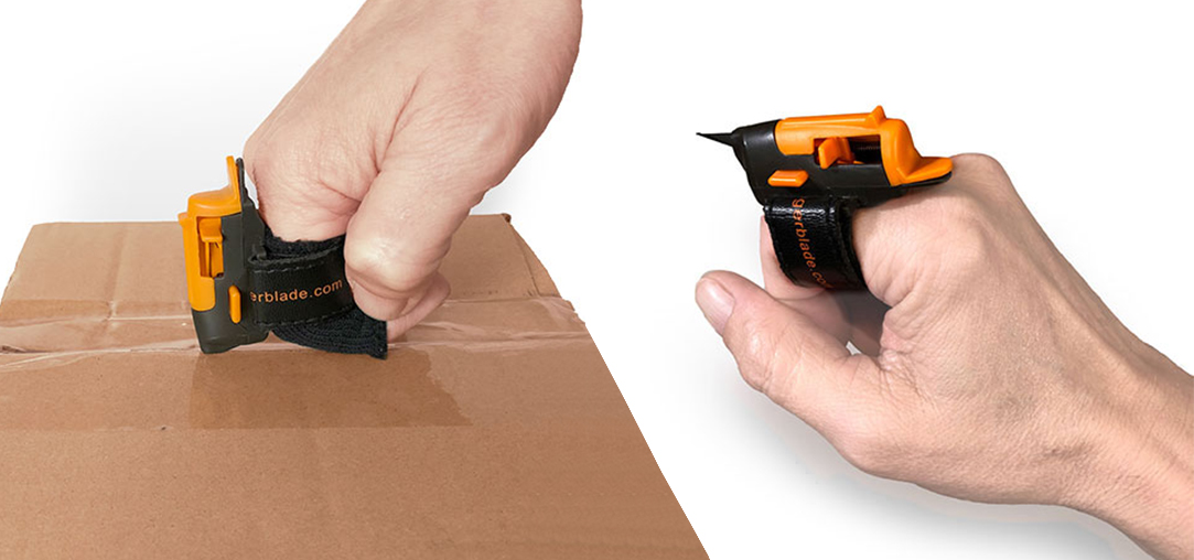 FingerBlade | perfect for cutting boxes or packing material