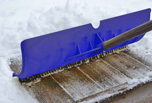 Shovel Designs: Snow Shovel- Brush Shovel