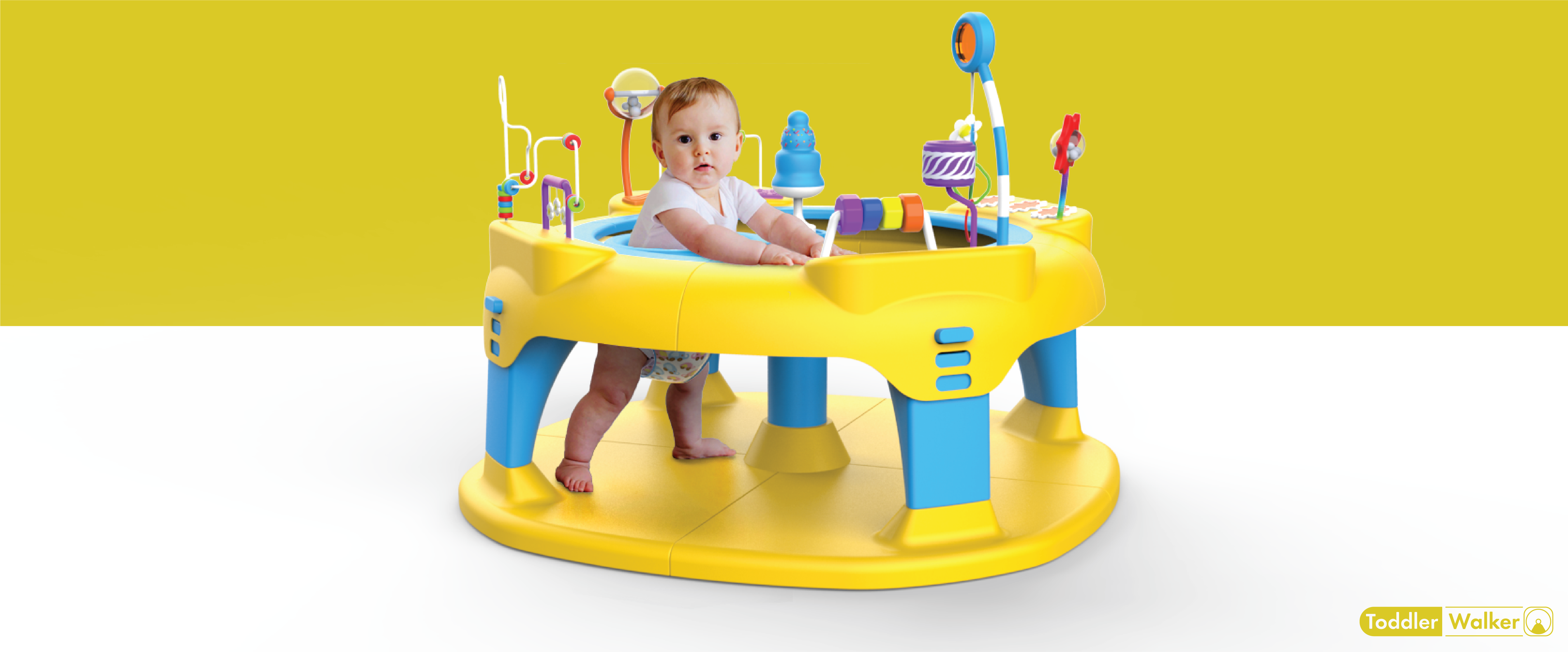 Products Developed at our Product Design Firm - Toddler Walker