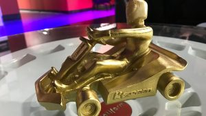 Gold Trophy of the Spark Innovations 30 years in business celebration