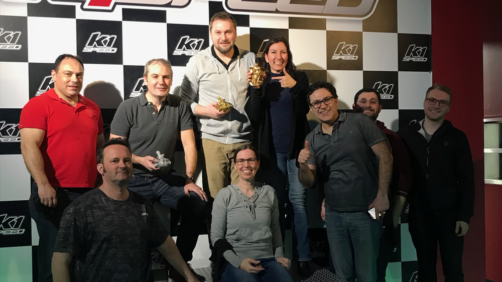 Spark Innovations at K1 Speed Celebrating 30 years in business