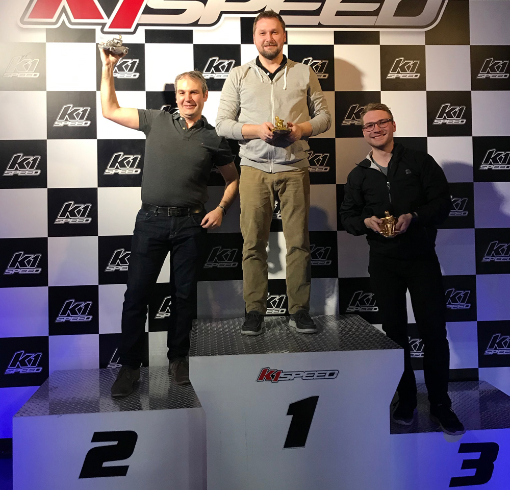 The Spark Team Winners at K1 Speed