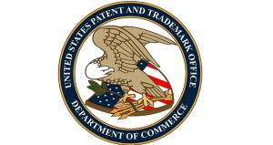 The USPTO Logo. Patent in the US