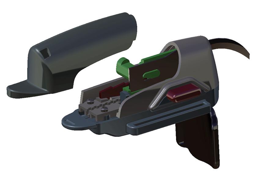 Mechanical Drawings Finger Blade