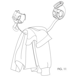 BindBuddy | Coat Carrier | Patent Drawings