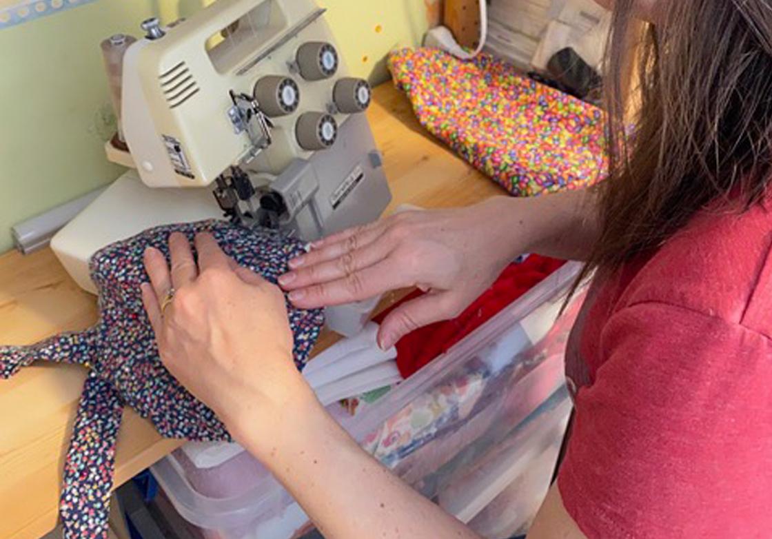 textile prototype specialist manufacturing scrub caps